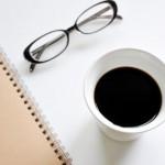 コーヒーとメガネ