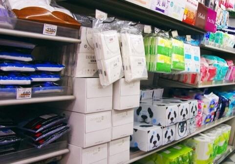 商品の陳列